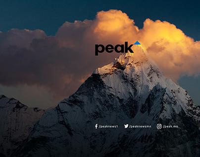 Peak.mn News Website