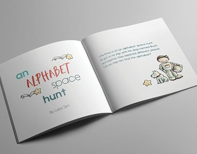 An Alphabet Space Hunt by Lara Sim