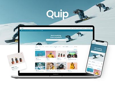 Quip Rental App