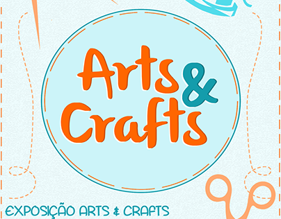 PÔSTER: ARTS & CRAFTS