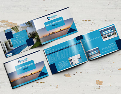 Horizontal Corporate Brochure