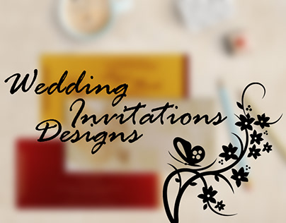 April 2018 Designs of Wedding Invitations