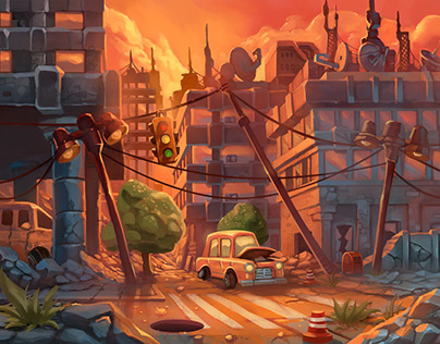 concepts environments ,mobile game