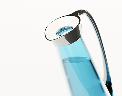 Still blue | heating water jug with bottled water