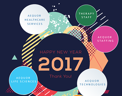 Creative Design - New Year Greeting Design