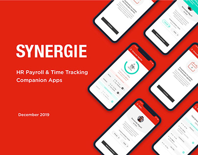 Synergie - HR Payroll & Time Tracking Companion Apps