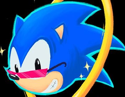 Sonic The Hedgehog (Fan-art)