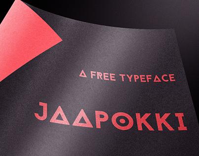 Jaapokki Typeface(FREE)