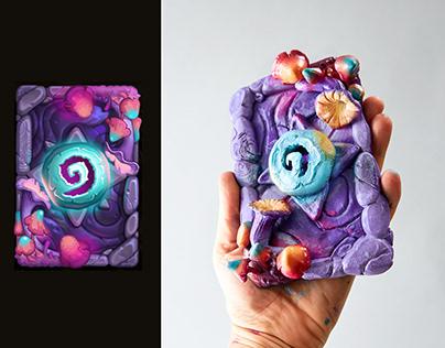 Hearthstone Card Recreate - Blushroom