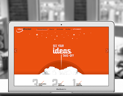 Idea Rocket - Web Redesign