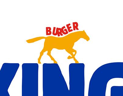 Order like a king - Burger King