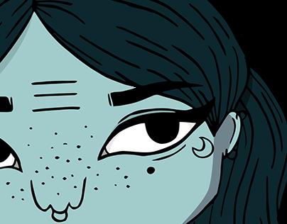 Sea Witch Illustration