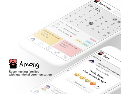 Among: Family Connection App UX Case Study