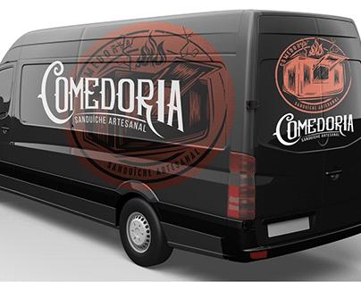 Comedoria // Logo