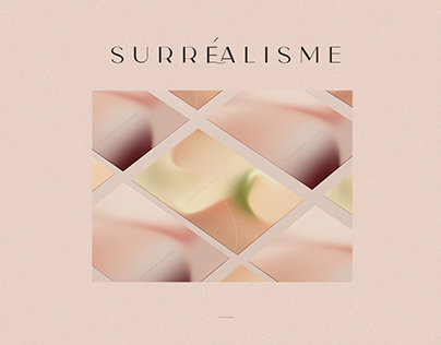 Surréalisme - Gradients posters about feelings