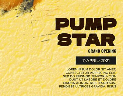 Pump Star Poster