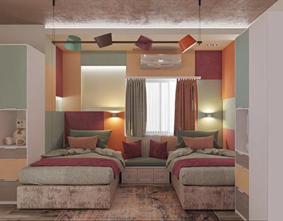 Double bedroom (feminine)