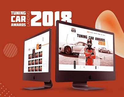 Design site Tuning Car Awords 2018