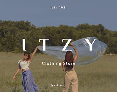 Itzy - Online fashion store design