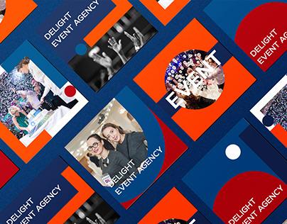 Branding for event agency