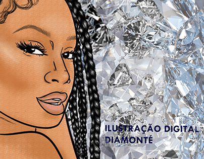 Ilustração Digital Diamonté