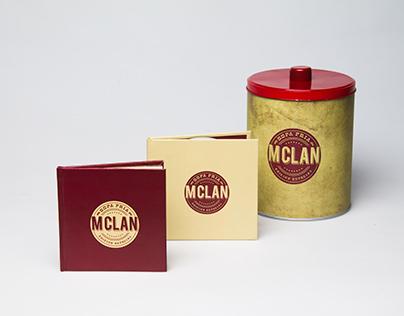 """M Clan """"Sopa fría"""" Edición especial."""