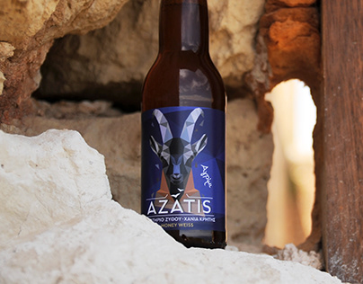 Azatis, Chania Brewing Lab - Branding & Packaging