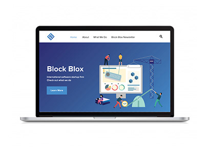 BlockBlox Website Design