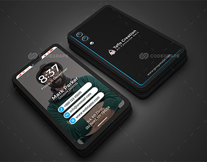 Smartphone Business Card
