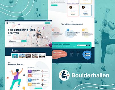 BoulderHallen - Branding and Website Case Study
