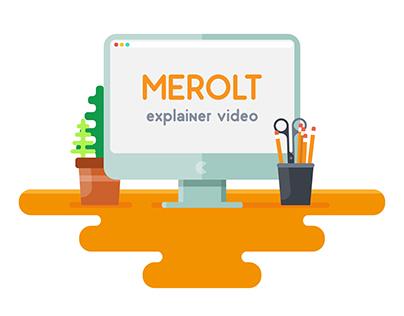 Merolt - Illustration design - explainer video
