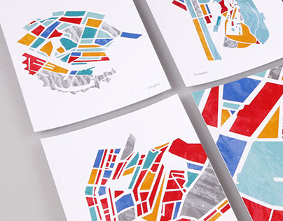 Invisible Cities map illustrations