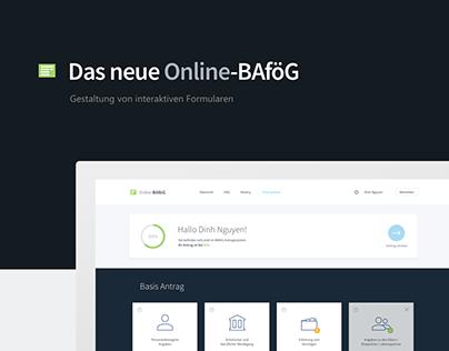 Das neue Online-BAföG - Konzept