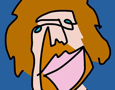 Dirk Nowitzki drawing