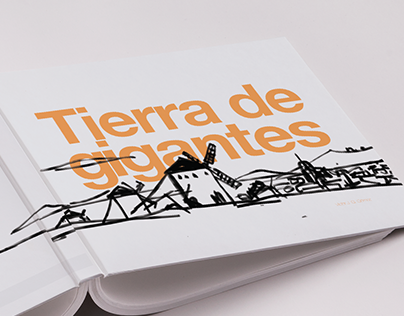 Editorial design (Tierra de Gigantes)