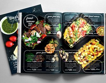 restaurants menu card
