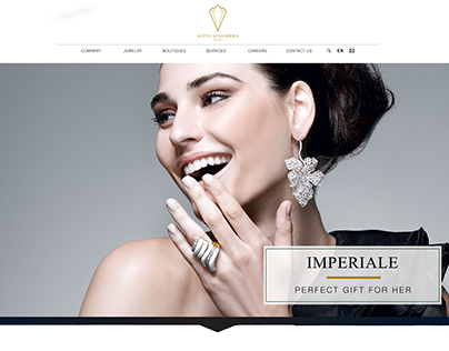 WEBSITE DESIGN for AA Jewellery Company