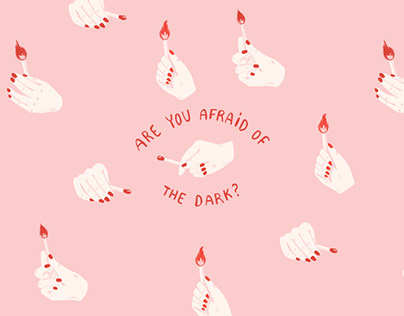 NOTEBOOK SET | are you afraid of the dark?