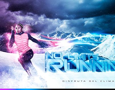 No Limits Running / Pieza Gráfica / Fotomontaje