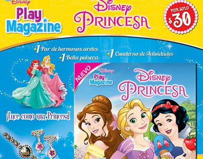 Nuevos productos editoriales con Licencias Disney