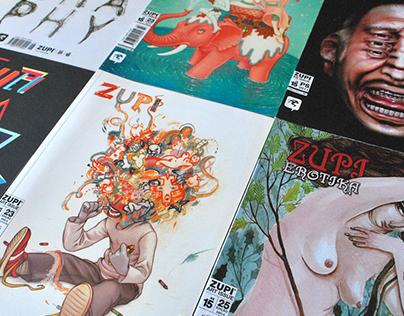 Zupi magazine - Lettering