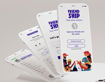 UX/UI Design FriendShip