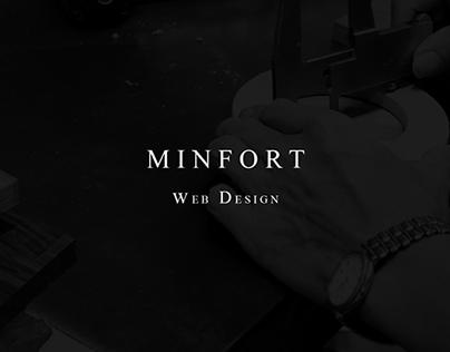 MINFORT / web design-MINFORT