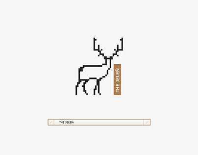 Pixelated Animal Design.