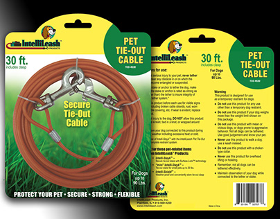 Product Card for Intelli-Leash Tie-Out Cables