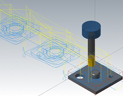 Multiple Parts in one setup- CNC Machining