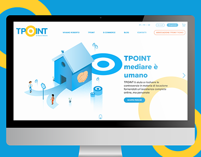 Web design/UI for TPOINT