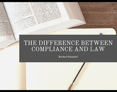 Rachael Giannetti on Compliance and the Law