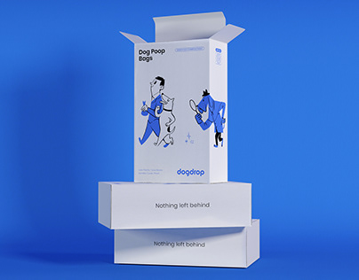 The Dogdrop's Packaging