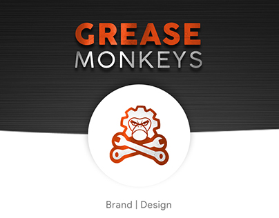 Logo Storyboard: Grease Monkeys